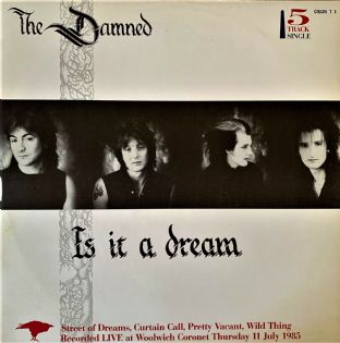"Damned (The) - Is It A Dream (12"") (VG-EX/VG-EX)"